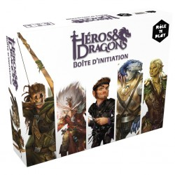 HÉROS & DRAGONS : BOITE D'INITIATION RÔLE 'N PLAY - FACE