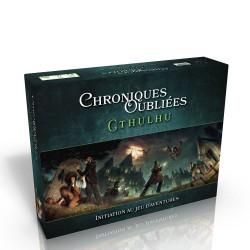 CHRONIQUES OUBLIÉES: BOITE D'INITIATION CTHULHU - FACE