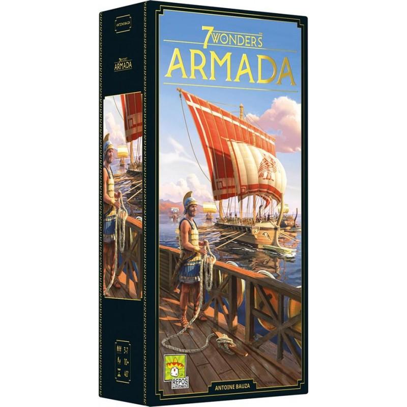 7 Wonders (Nouvelle Édition) : Armada - FACE