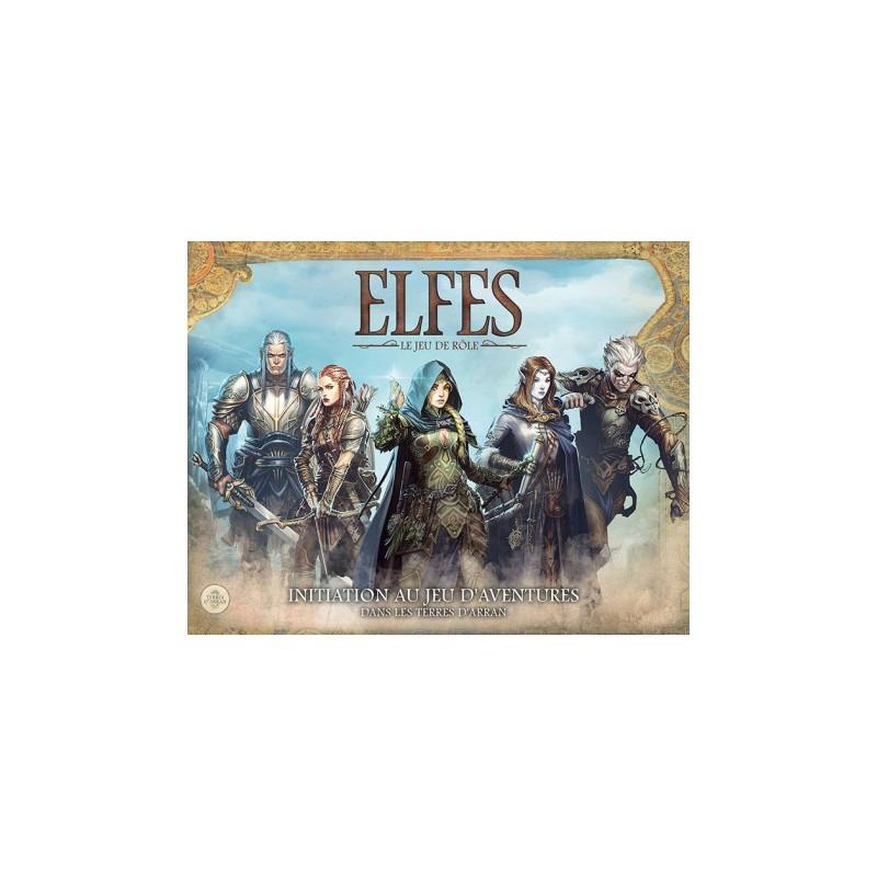 ELFES : INITIATION AU JDR DANS LES TERRES D·ARRAN - FACE