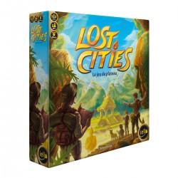 LOST CITIES : LE JEU DE PLATEAU - FACE