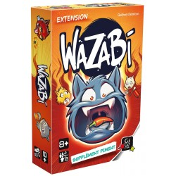 WAZABI EXT : SUPPLEMENT PIMENT - FACE
