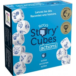 RORY'S STORY CUBES : ACTIONS – BLEU - FACE
