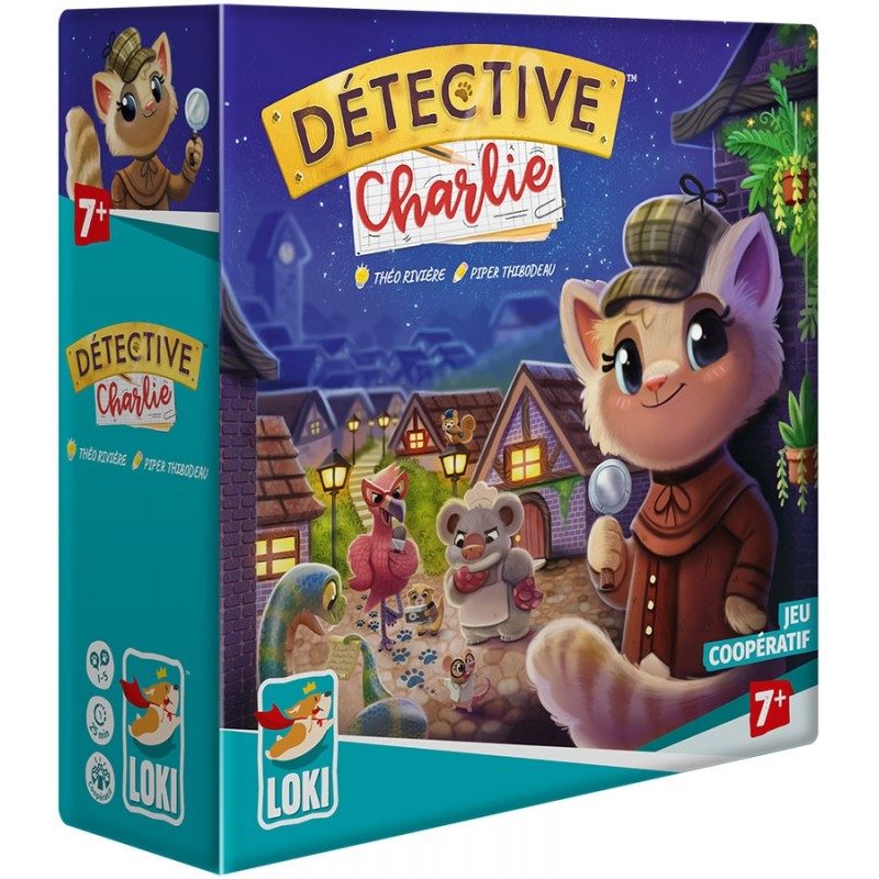 DETECTIVE CHARLIE - FACE