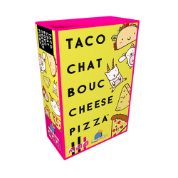 TACO CHAT BOUC CHEESE PIZZA - FACE