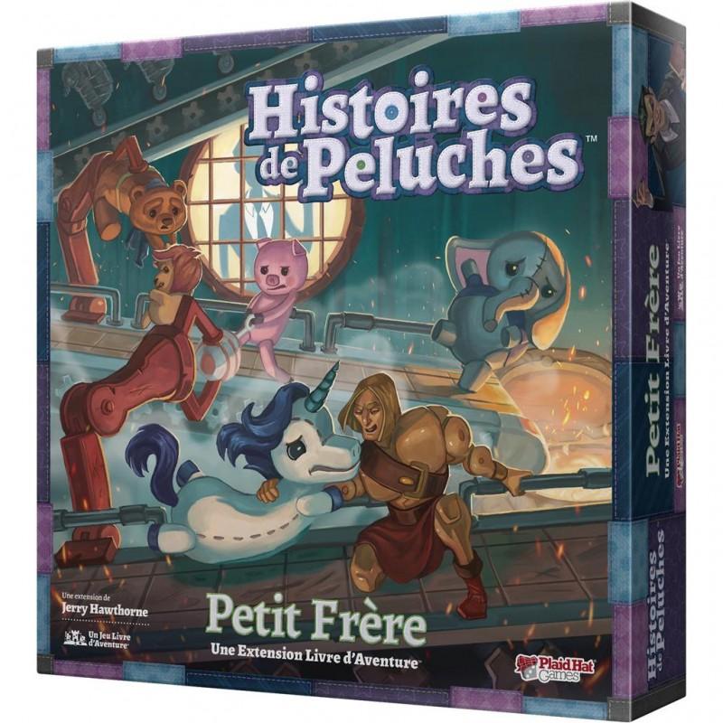 HISTOIRES DE PELUCHES : PETIT FRÈRE (EXT.) - FACE