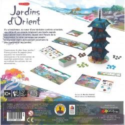 JARDINS D'ORIENT - DOS