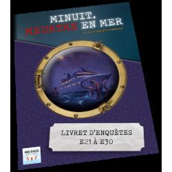 """MINUIT, MEUTRE EN MER-  EXT """"LE JOUR ET LA NUIT"""" - CONTENU"""