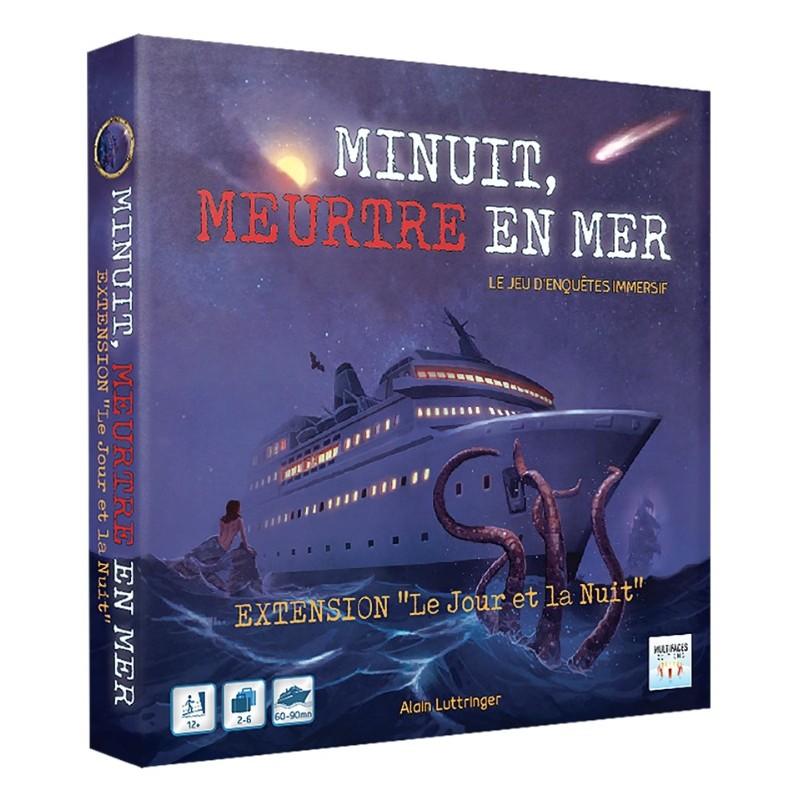 """MINUIT, MEUTRE EN MER-  EXT """"LE JOUR ET LA NUIT"""" - FACE"""