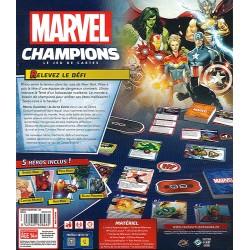 MARVEL CHAMPIONS : LE JEU DE CARTES - DOS