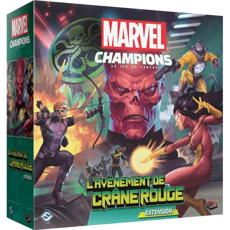 MARVEL CHAMPIONS : L'AVÈNEMENT DE CRÂNE ROUGE  - FACE