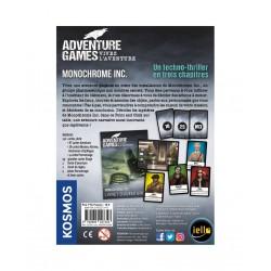 ADVENTURE GAMES : MONOCHROME - DOS
