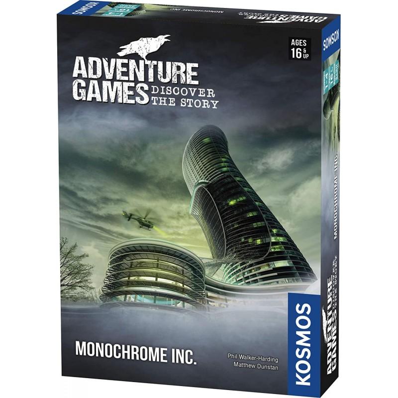 ADVENTURE GAMES : MONOCHROME - FACE