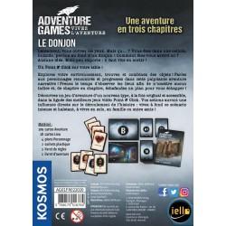 ADVENTURE GAMES : LE DONJON - DOS