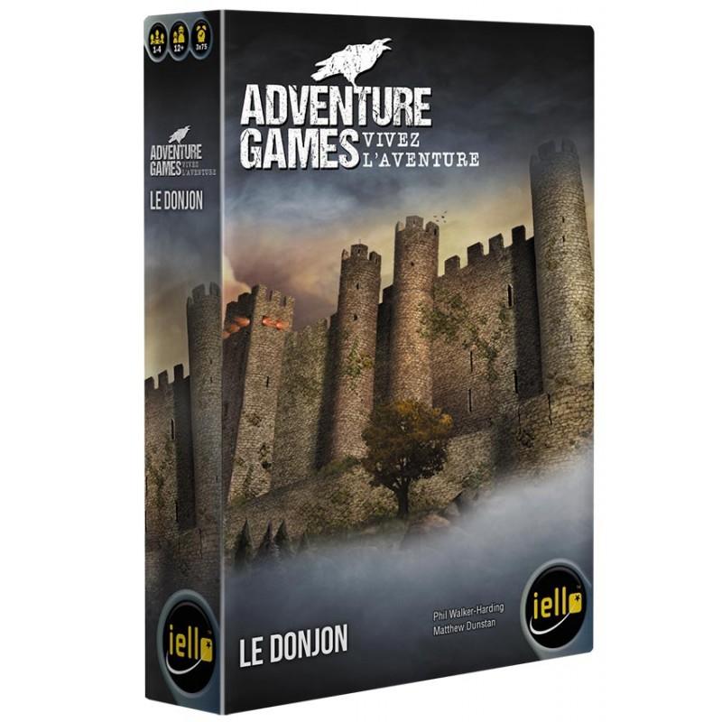 ADVENTURE GAMES : LE DONJON - FACE