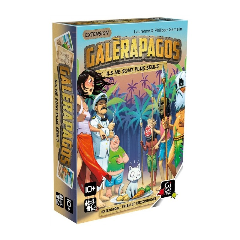 GALERAPAGOS : TRIBU ET PERSONNAGES - FACE