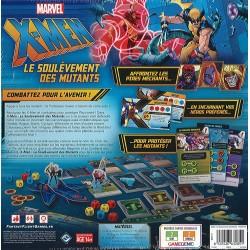 X-MEN : LE SOULEVEMENT DES MUTANTS - DOS