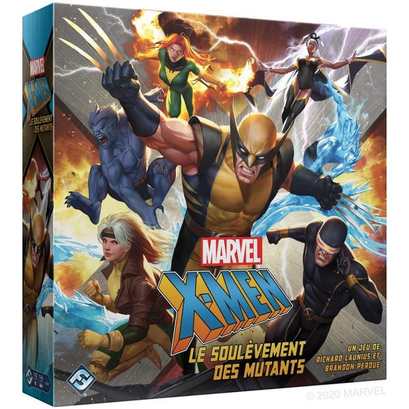 X-MEN : LE SOULEVEMENT DES MUTANTS - FACE