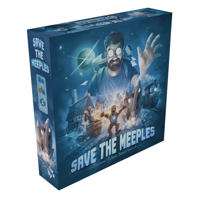 SAVE THE MEEPLES - FACE