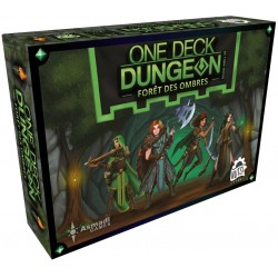 ONE DECK DUNGEON : FORET DES OMBRES - FACE