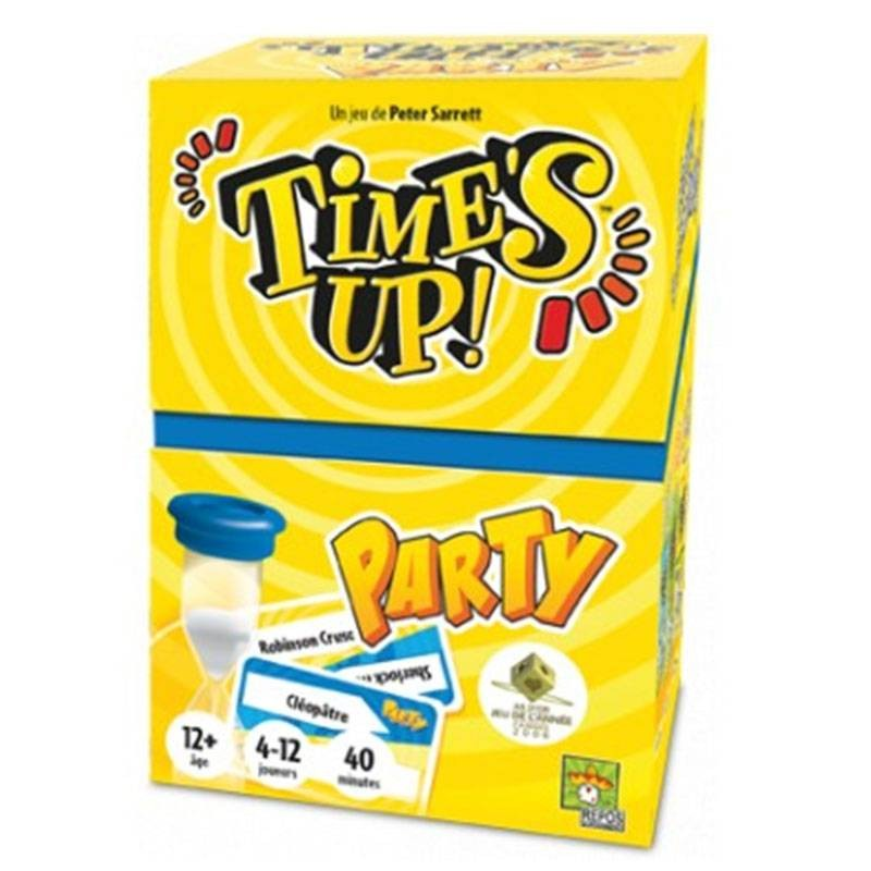 TIME'S UP PARTY - FACE