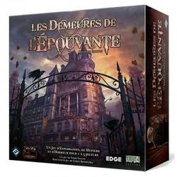 LES DEMEURES DE L'EPOUVANTES - FACE