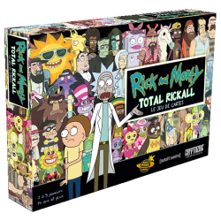 RICK AND MORTY - TOTAL RICKALL Face